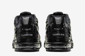 Nike Air Max Plus 3 Returns In Sleek Black & Grey Colorway: Official Images