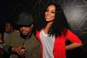Jermaine Dupri Works With Monica In The Studio, Previews New Music