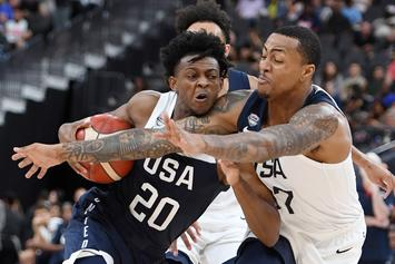 """De'Aaron Fox Withdraws From A Depleted """"Team USA"""""""