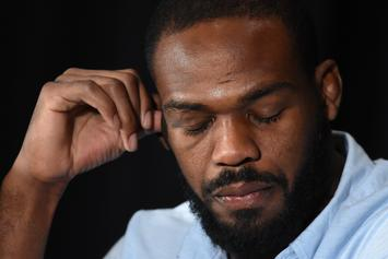 Jon Jones Reacts To Daniel Cormier's TKO Loss At UFC 241