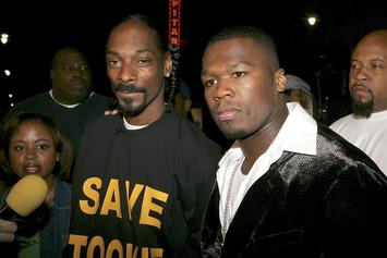 "50 Cent: ""Snoop Dogg Made Me Smoke, Now I Got A Drug Problem"""