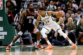 James Harden Thinks Giannis Won MVP Because Of Media Narrative