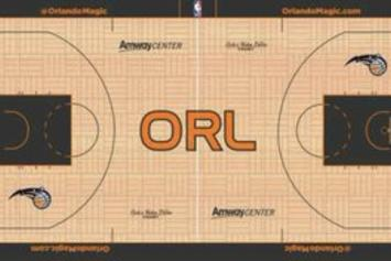 """Orlando Magic """"City Edition"""" Court Images Leaked: First Look"""