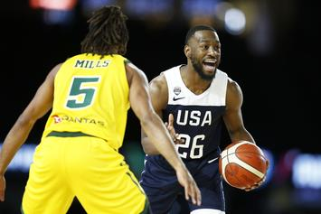"Kemba Walker Reflects On ""Team USA"" Snapping Its 78-Game Win Streak Vs. Australia"
