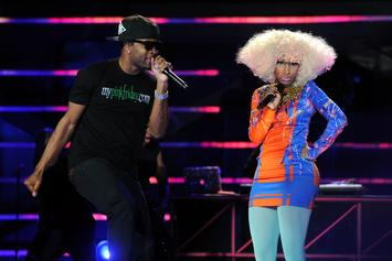 Nicki Minaj's Ex Safaree Clowned For Old Dancing Video During Her Performance