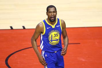 Kevin Durant Claps Back At Fan After Proving His Elbow Jumper Prowess