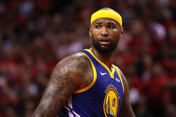 DeMarcus Cousins Channels Nipsey Hussle During Luxurious Wedding: Watch