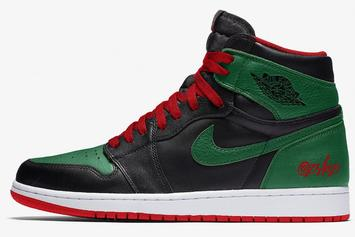 """Air Jordan 1 """"Gucci"""" Colorway Rumored To Release After All Star Weekend"""