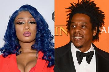 Megan Thee Stallion Hangs Out With Jay-Z & Breaks Twitter