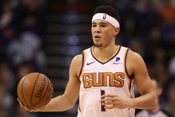 Devin Booker Masterfully Trolls Bill Simmons After Jayson Tatum Injury
