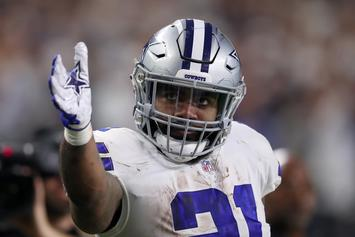 Ezekiel Elliott's Huge Contract Extension Elicits Strong Fan Reaction