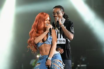 Quavo & Saweetie Are Mad Cute With Matching Grills