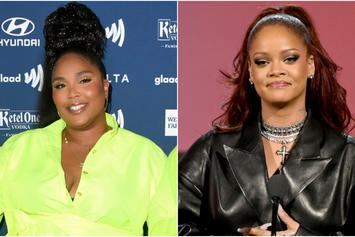Rihanna Shows Love To Her Girl Lizzo For Wearing Savage X Fenty's Strapless Bra