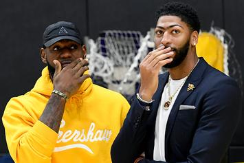 LeBron James Wants Anthony Davis To Be Lakers Offensive Focal Point: Report