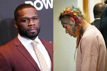 50 Cent Confirms He's Ignoring Any Calls From Tekashi 6ix9ine