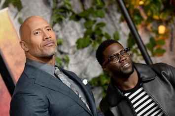 "Dwayne Johnson Shares Update On ""His Son"" Kevin Hart After Car Accident"