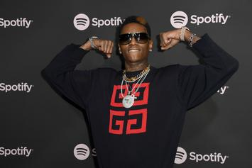 Soulja Boy Spotted For The First Time Since His Release From Prison