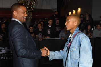 "Jaden Smith Celebrates Will Smith's 51st B-Day With ""Fresh Prince"" Sing-A-Long In Philly"