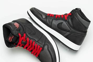 "Air Jordan 1 High OG ""Black Satin"" Rumored For Next Year: First Look"
