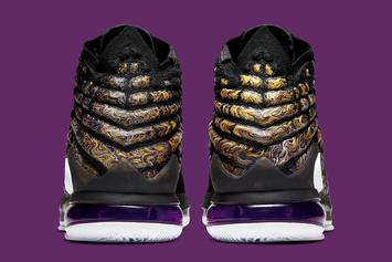 """Nike LeBron 17 """"Lakers"""" Coming Soon: Official Photos"""