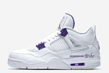 "Air Jordan 4 ""Court Purple"" Releasing Next Year: What To Expect"