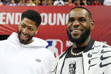 LeBron James & AD Display Sensational Form During Lakers Practice: Watch