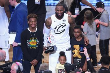 LeBron James Offers Heartfelt Message To Bronny On His Birthday