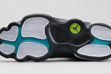 "Air Jordan 13 ""Island Green"" Releasing In November: New Images"