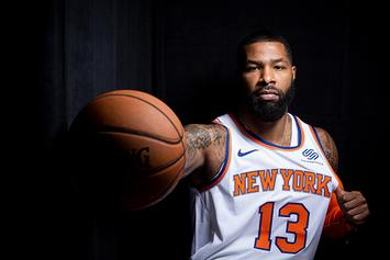 """Knicks' Marcus Morris Ejected From First Game: """"We're Not Taking Any Sh*t"""""""