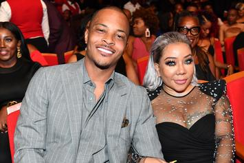 """T.I. Shares Photo With His Biggest """"Crushes"""" And His Wife"""