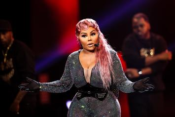 Lil Kim Gets Heated By Aggressive Fur Protestors In New York