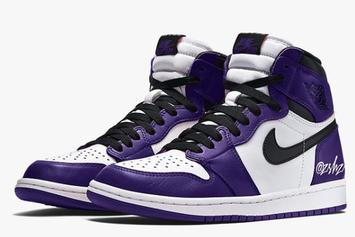 "Air Jordan 1 High OG ""Court Purple"" Release Details Updated"