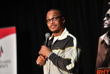 """T.I. Names His Mt. Rushmore Of Atlanta Rappers: """"I'm Up There!"""""""