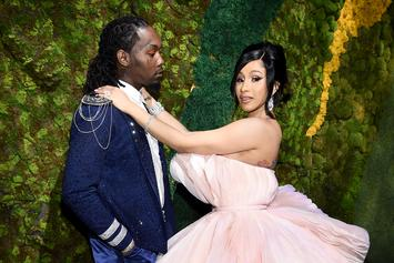 "Offset Gifts Cardi B With a ""Titanic Diamond"" Ring For Her Birthday"