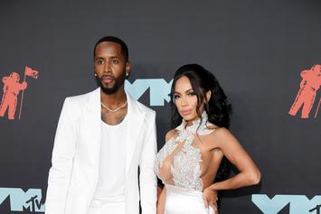 Safaree Samuels & Erica Mena Reveal They're Having A Girl At Extravagant Party