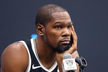 Kevin Durant Makes It Clear He Has No Time For Your Graphs Or Analytics
