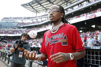 Quavo Pleas With Falcons To Make Him Their Starting QB: Watch