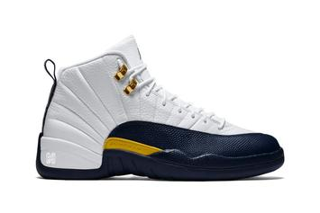 "Air Jordan 12 ""Michigan"" Release Update Revealed"