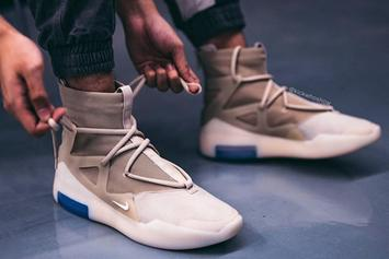 "Nike Air Fear Of God 1 ""Oatmeal"" Release Date, Images Revealed"