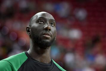 Celtics' Tacko Fall Suffers Bizarre Concussion Due To His Height
