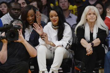 Rihanna Spotted Courtside At Lakers Home Opener: See Pics