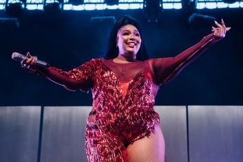 Lizzo Goes Nude & Covers Herself In Skittles For Halloween