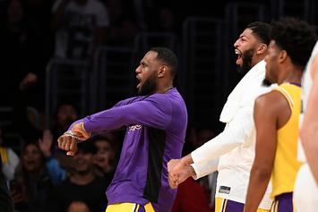 "LeBron James Leads Lakers Fans In ""Taco Tuesday"" Chant During Blowout Win"