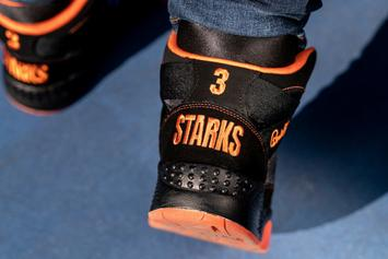 Ewing Athletics Honors John Starks' Iconic Dunk Over MJ's Bulls With New Sneaker