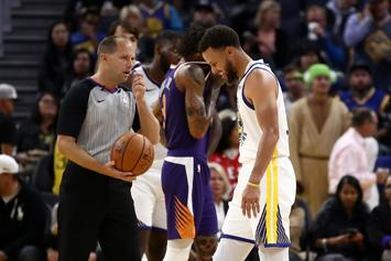 Steph Curry Suffers Broken Hand After Colliding With Phoenix Suns Player