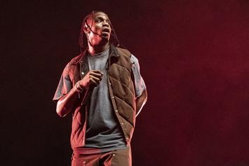 Travis Scott Cancels Headlining Set At Day N Vegas After Nasty Knee Injury
