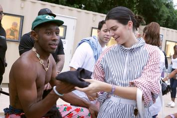 Kendall Jenner & Tyler, The Creator Learn How To Drift For Model's 24th Birthday