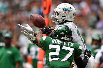 """Jets CB Darryl Roberts Eviscerates """"Fake"""" Fans After Upset Loss To Dolphins"""