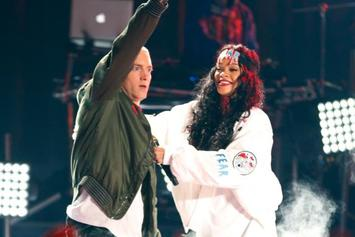 """Eminem Leaked Lyric Says He """"Sides"""" With Chris Brown Over Rihanna Assault: Report"""