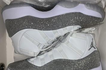 "Air Jordan 11 ""Metallic Silver"" Rumored To Drop This Month: New Images"